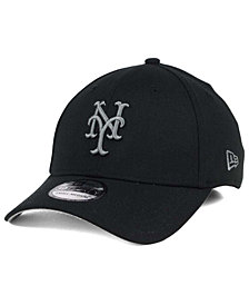 New Era New York Mets Black and Charcoal Classic 39THIRTY Cap