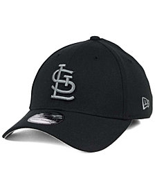 New Era St. Louis Cardinals Black and Charcoal Classic 39THIRTY Cap