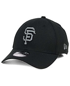 San Francisco Giants Black and Charcoal Classic 39THIRTY Cap