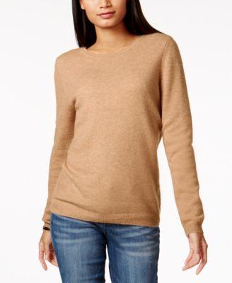 Petite Cashmere Sweaters - Macy's - Macy's