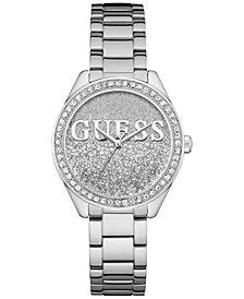 GUESS Women's Stainless Steel Bracelet Watch 37mm
