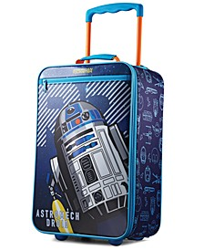 "Star Wars R2D2 18"" Softside Rolling Suitcase"