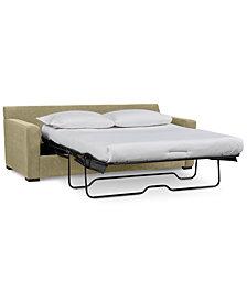 "Radley 86"" Fabric Queen Sleeper Sofa Bed - Custom Colors, Created for Macy's"