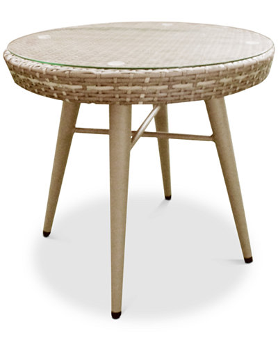 Avery Outdoor End Table, Quick Ship