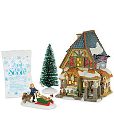 Department 56 Dicken's Village Christmas Carol Poulterer's Shop