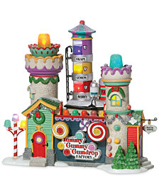 Department 56 North Pole Village Yummy Gummy Gumdrop Factory Figurine