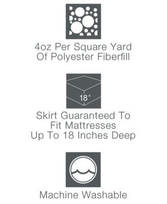Home Design CLOSEOUT! Waterproof King Mattress Pad, Down Alternative Fiber  Fill, Created For Macyu0027s   Mattress Pads U0026 Toppers   Bed U0026 Bath   Macyu0027s