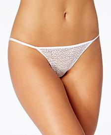 DKNY Modern Lace Sheer String Bikini DK5015