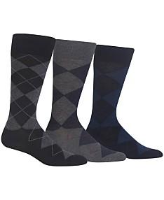 5e794bd752301 Polo Ralph Lauren Men's Socks, Extended Size Argyle Dress Men's Socks ...