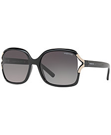 Sunglass Hut Collection Polarized Sunglasses, HU2002 58