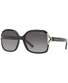 Sunglass Hut Collection Polarized Sunglasses , HU2002 58