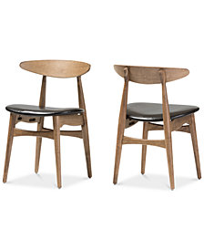 Edna Dining Chair (Set of 2), Quick Ship