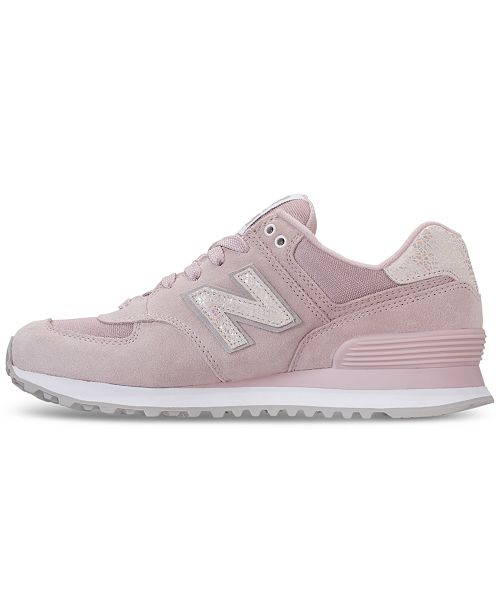 pretty nice 3cbfb 18935 ... New Balance Women s 574 Shattered Pearl Casual Sneakers from Finish ...