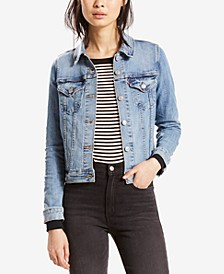 Original Denim Trucker Jacket, Created for Macy's