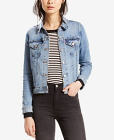 Levi's® Original Denim Trucker Jacket, Created for Macy's