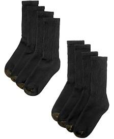 Gold Toe Men's 8-Pack Crew Socks