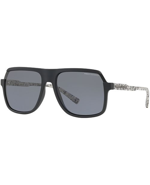 889a92c0d9c ... Armani Exchange Polarized Sunglasses