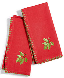 Bardwil Holly 2-Pc. Napkin Set