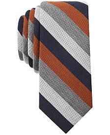 Bar Iii Men S Dupont Stripe Skinny Tie Created For Macy