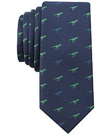 Bar III Men's Multi Print Conversational Skinny Tie, Created for Macy's
