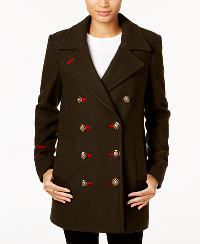 BCBGeneration Double-Breasted Peacoat