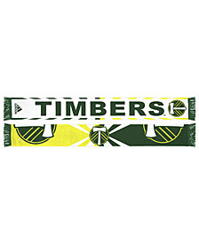 adidas Portland Timbers Jacquard Wordmark Scarf