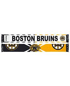 adidas Boston Bruins Jacquard Wordmark Scarf