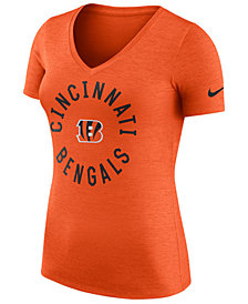 Nike Women's Cincinnati Bengals Dri-Fit Touch T-Shirt