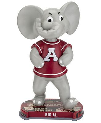 Forever Collectibles Elepahant Alabama Crimson Tide Headline Bobblehead