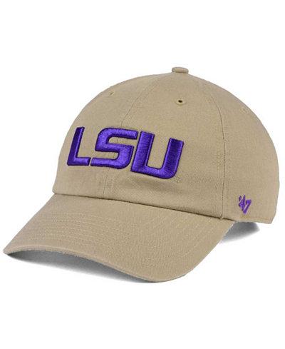 '47 Brand LSU Tigers CLEAN UP Cap