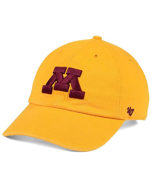 online store a30b6 1eb70 ...  47 Brand Minnesota Golden Gophers CLEAN UP Cap    ...