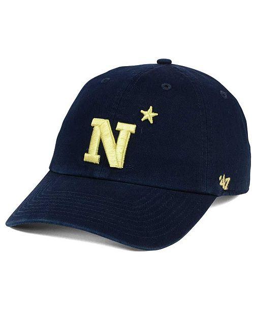 76295cc785861  47 Brand Navy Midshipmen CLEAN UP Cap   Reviews - Sports Fan ...