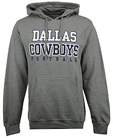 Authentic NFL Apparel Men's Dallas Cowboys Practice Fleece Hoodie