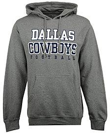 Authentic NFL Apparel Men's Dallas Cowboys Practice Fleece Hoodie