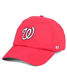 '47 Brand Washington Nationals Repetition CLEAN UP Cap