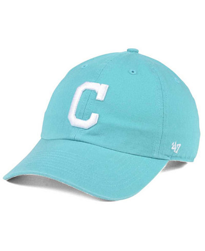 '47 Brand Cleveland Indians Lagoon CLEAN UP Cap