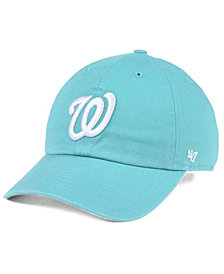 '47 Brand Washington Nationals Lagoon CLEAN UP Cap