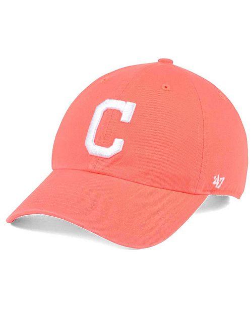 5b9ebb460 '47 Brand Cleveland Indians Grapefruit CLEAN UP Cap & Reviews ...