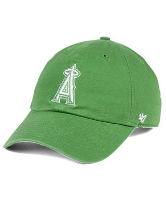 '47 Brand Los Angeles Angels of Anaheim Fatigue Green CLEAN UP Cap