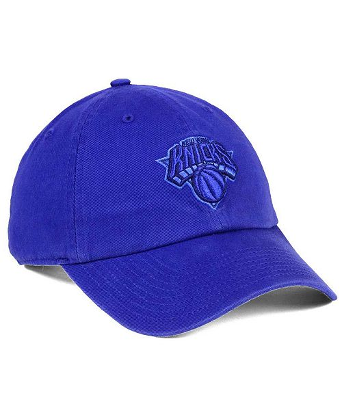new styles 87ec1 fff78 ...  47 Brand New York Knicks Triple Rush CLEAN UP Cap    ...