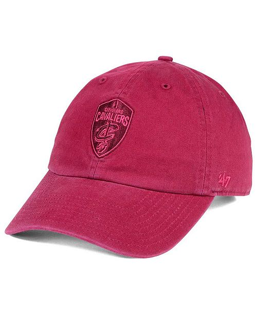 '47 Brand Cleveland Cavaliers Triple Rush CLEAN UP Cap