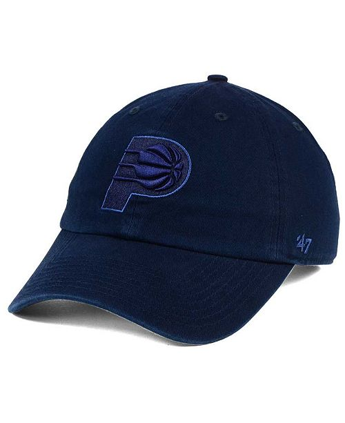 '47 Brand Indiana Pacers Triple Rush CLEAN UP Cap