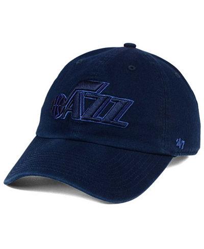 '47 Brand Utah Jazz Triple Rush CLEAN UP Cap