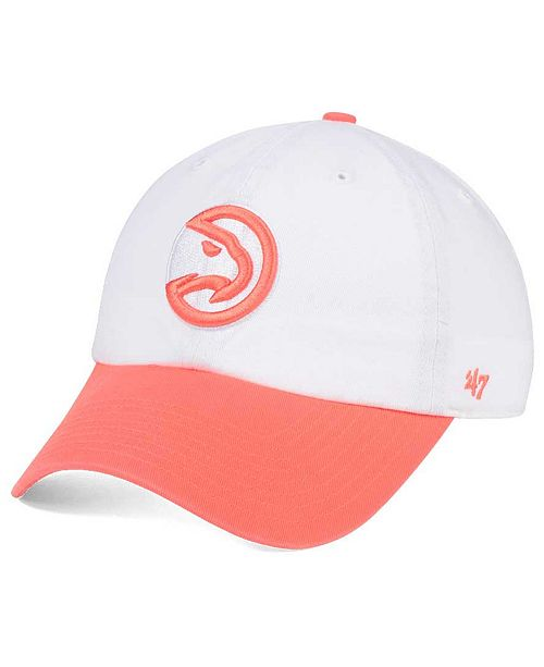 '47 Brand Atlanta Hawks Pastel Rush CLEAN UP Cap