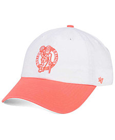 '47 Brand Boston Celtics Pastel Rush CLEAN UP Cap