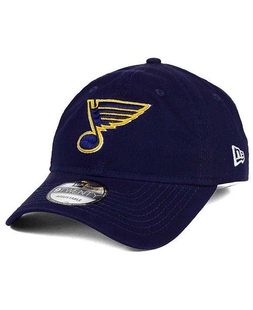 finest selection c364f 6f07c New Era St. Louis Blues Relaxed 9TWENTY Strapback Cap - Sports Fan ...