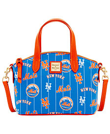 Dooney & Bourke New York Mets Nylon Mini Crossbody Satchel