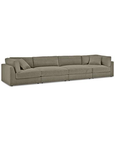 Aryanna 4-Pc. Modular Sofa - Custom Colors, Created for Macy's