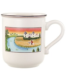 Villeroy & Boch Dinnerware, Design Naif Mug Man on Horse