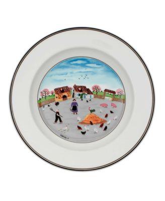 Dinnerware, Design Naif Rim Soup Bowl Country Yard